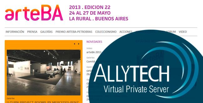 arteBA aloja su sitio en nuestros VPS por tercer año consecutivo