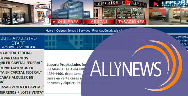 Lepore Propiedades: 12 años hablándole a sus clientes con Allynews