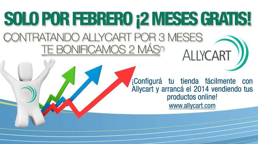 ¡Dos meses de Allycart gratis! Este mes tené tu tienda online