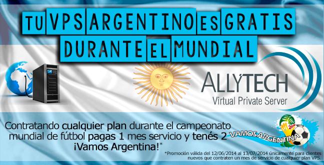 Tu VPS ARGENTINO es gratis durante el Mundial