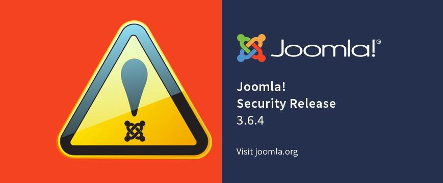 Joomla Aviso Seguridad
